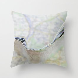 Let's go somewhere Throw Pillow