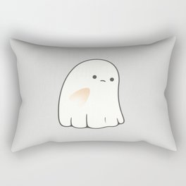 Poor ghost Rectangular Pillow