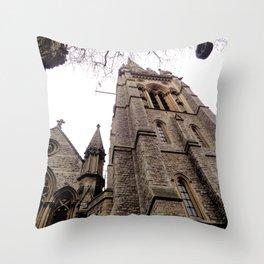 St Mary Abbots Church Throw Pillow