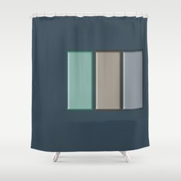 The Plan Shower Curtain