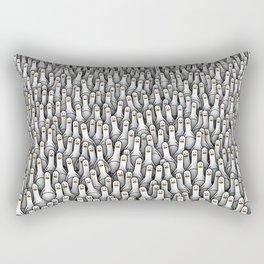 Geese army Rectangular Pillow