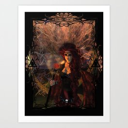 Soul Fire Art Print