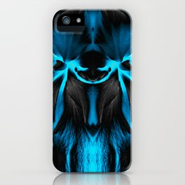 Honey Badger Flower iPhone Case