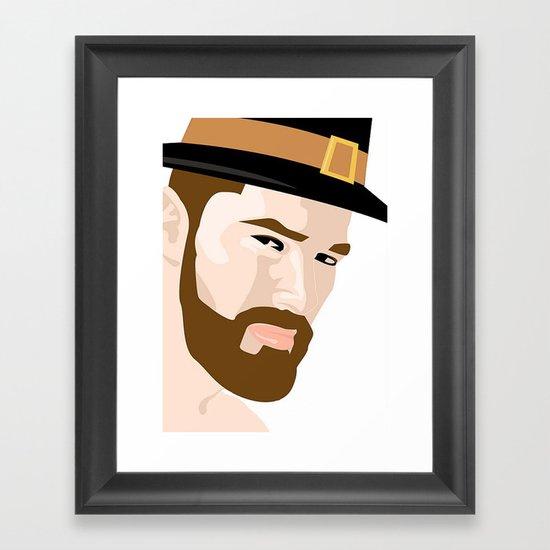 Pilgrim Framed Art Print