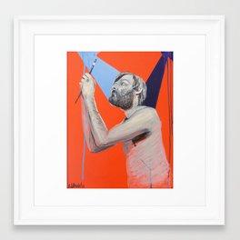 The Artist Framed Art Print