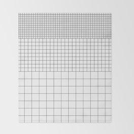 Grid v1 Throw Blanket