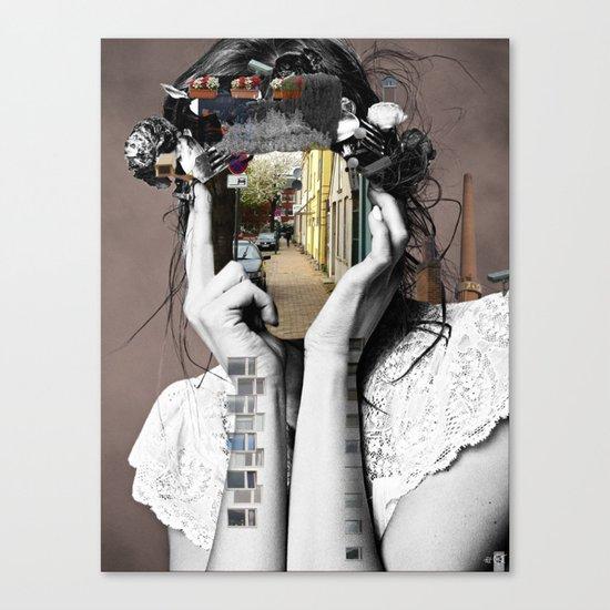 Crazy Woman - Lara Lisa Bella Canvas Print