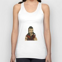 aang Tank Tops featuring Wang Fire by light-in-sky