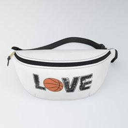 Love Basketball Fanny Pack