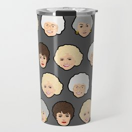 Golden Girls Grey Pop Art Travel Mug