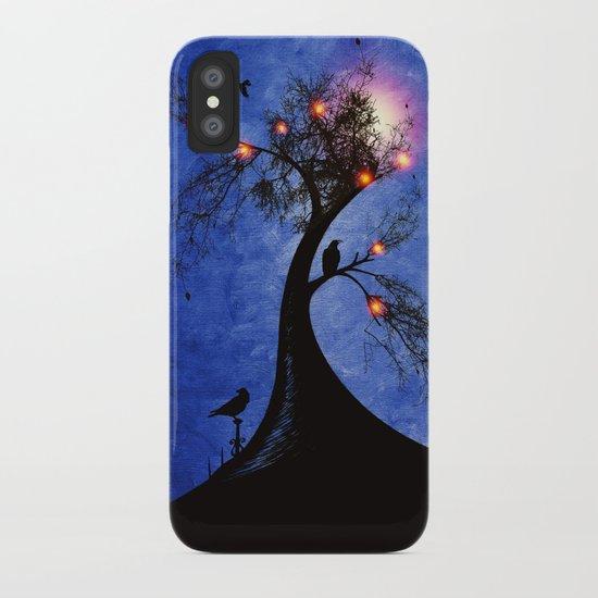 Raven christmas II - HOLIDAZE iPhone Case