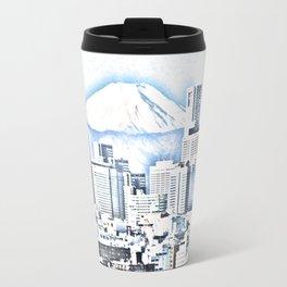 Mount Fuji China landscape Travel Mug