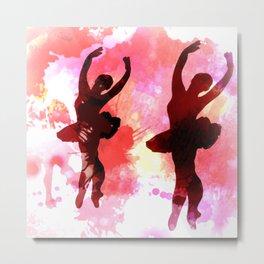 Morning Dancers Metal Print