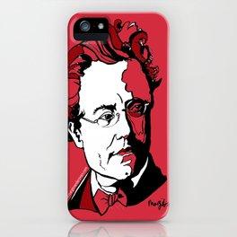 Gustav Mahler Composer Violin Cello Viola Piano Guitar Harp Orchestra Symphony String Quartet Duo iPhone Case
