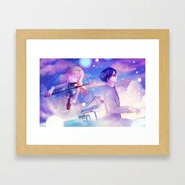 Ballade Framed Art Print