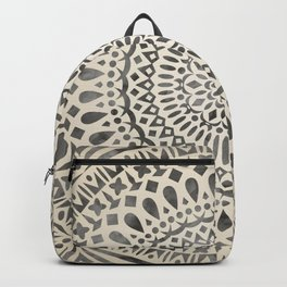 mandala11w Watercolor Mandala Backpack