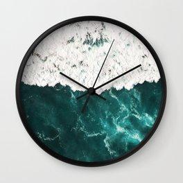 Incoming wave Wall Clock