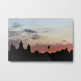 Angkor Splendor Metal Print
