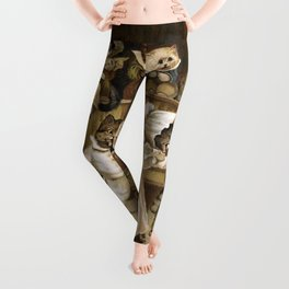 Mrs Tabitha's Cats Academy Leggings