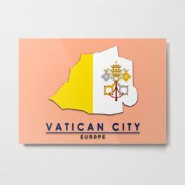 Vatican City - Europe Metal Print
