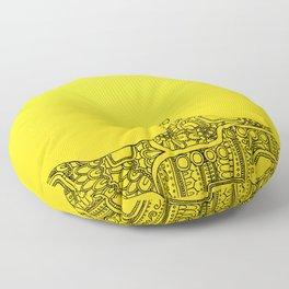 Yellow Submarine Solo Floor Pillow