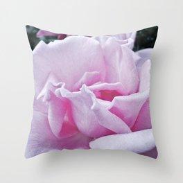 Fading rose Throw Pillow