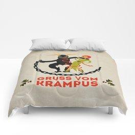 Gruss vom Krampus II Comforters