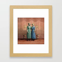 The Sloth Sisters at Home Framed Art Print