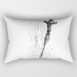 Bonefire Lit Rectangular Pillow