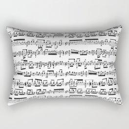 Sheet Music Rectangular Pillow