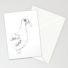 Sinister Seagull Stationery Cards