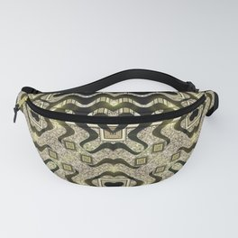 Tribal Gold Glam Fanny Pack