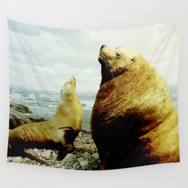 Sea Lion II Wall Tapestry