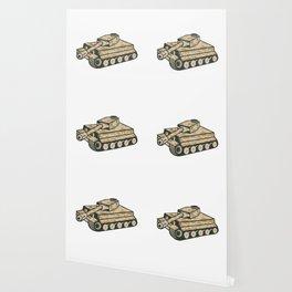 World War Two Panzer Tank Retro Wallpaper