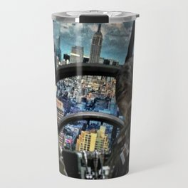 Smugglers in the city. Travel Mug