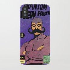 phantom moustache Slim Case iPhone X