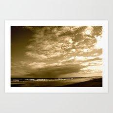 Myrtle Beach at Dusk Art Print