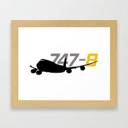 747-8 version  2.0 Framed Art Print