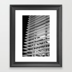 At the Edges Framed Art Print