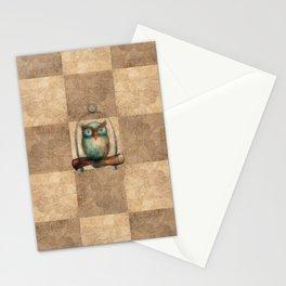 Pathchwork Owl Stationery Cards