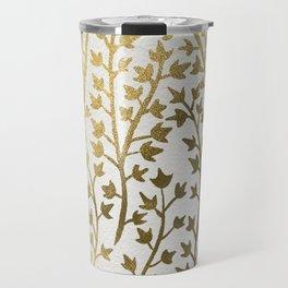 Gold Ivy Travel Mug