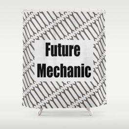 Future Mechanic Shower Curtain