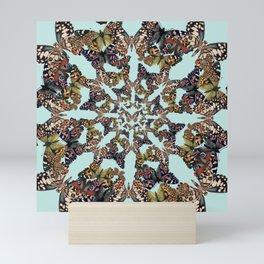 Butterfly Scatter Mini Art Print