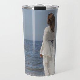 Lady in White Travel Mug