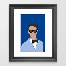 Bill Nye the Science Guy Framed Art Print