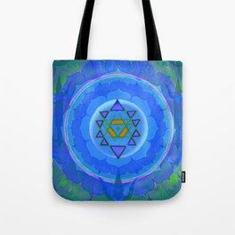 Inner Light Yantra Tote Bag