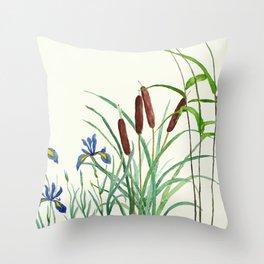 pond-side elegance Throw Pillow