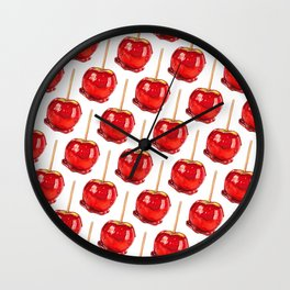 Candy Apple Wall Clock