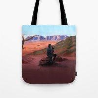 navajo Tote Bags featuring Navajo by Camilla Häggblom