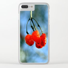 Rowanberry Clear iPhone Case